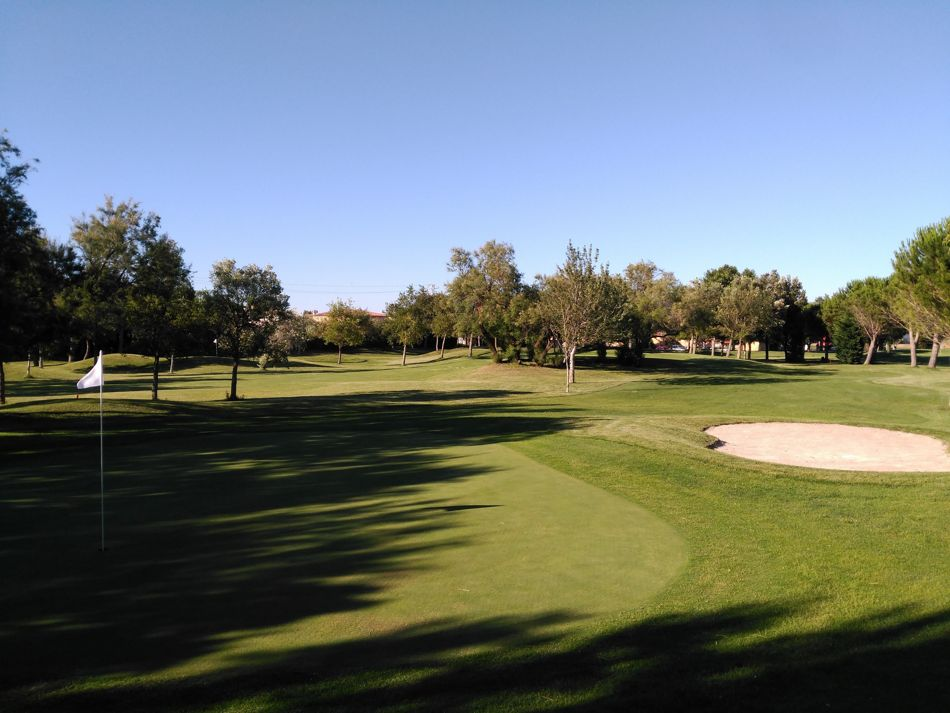 Vista del campo Golf Gastelló-Empuriabrava