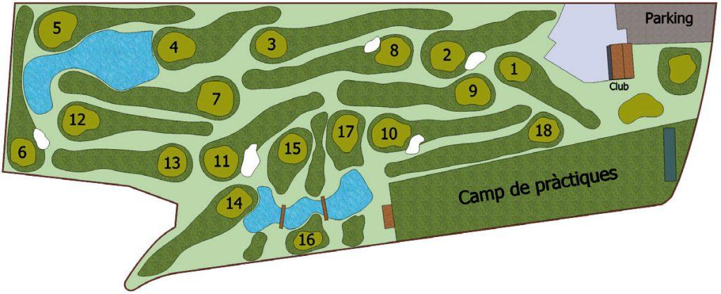 Mapa de la tarjeta de joc.